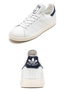 【adidas】Originals STAN SMITH TF ネイビー RUNNING WHITE/RUNNING WHITE/COLLEGIATE NAVY atmos (50481)
