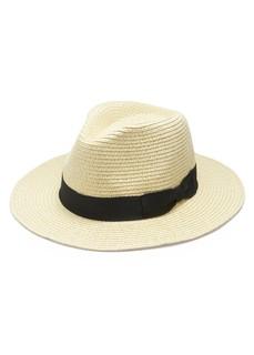 Summer Hat Collection - ペーパーブレードつば広HAT (56500)